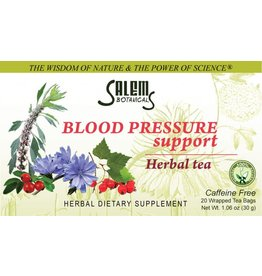 Salem Botanical Herbal Tea, Blood Pressure Support