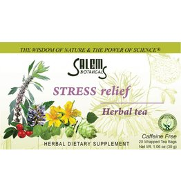 Salem Botanical Herbal Tea, Stress Relief