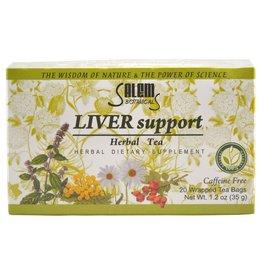 Salem Botanical Травяной чай, поддержка печени