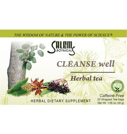 Salem Botanical Herbal Tea, Cleanse Well