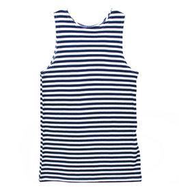 "Sleeveless Stripe T-Shirt, ""Telnyashka"""