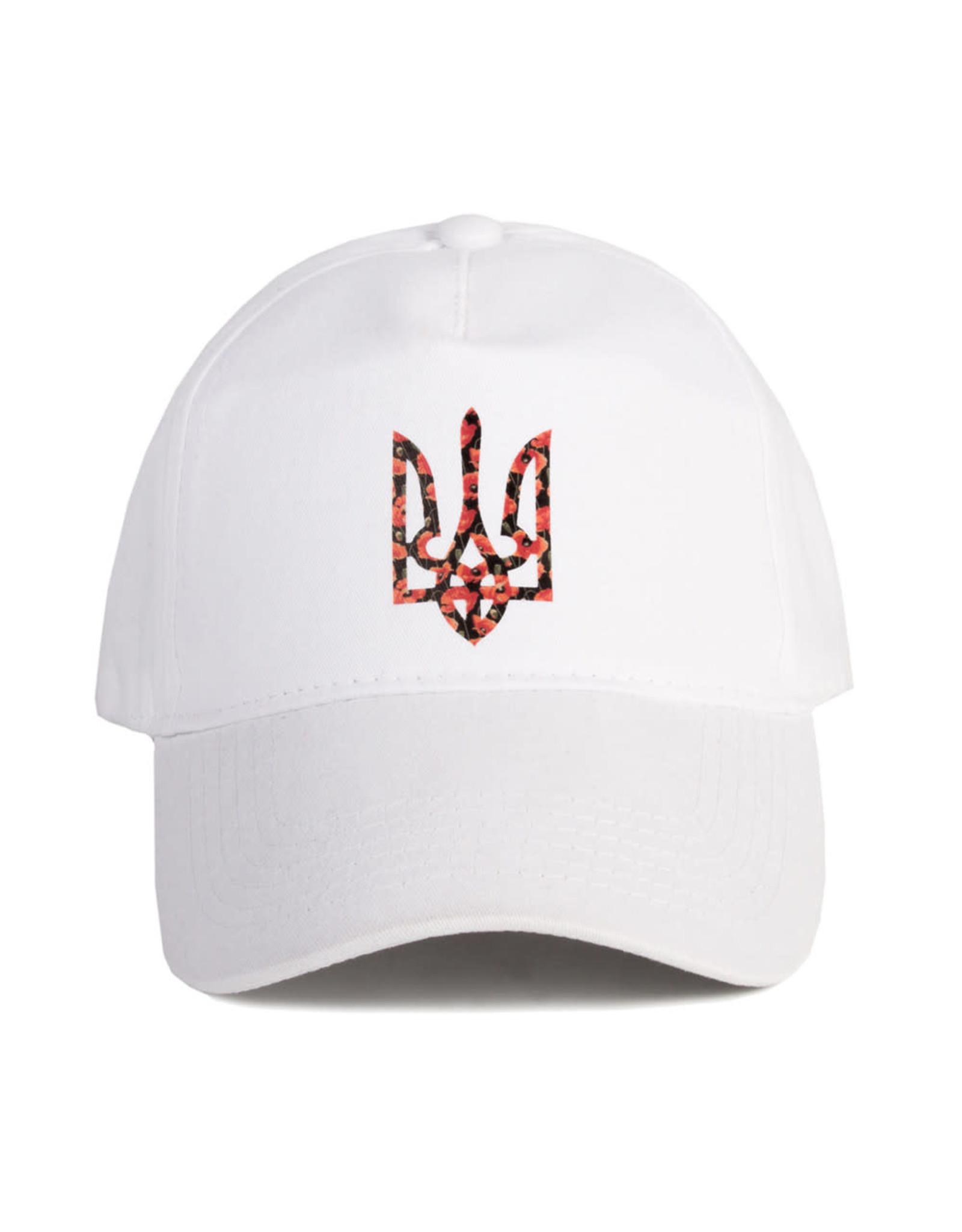 Бейсболка, Герб Укр. в маках
