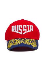 Baseball Cap, Russia (Red)