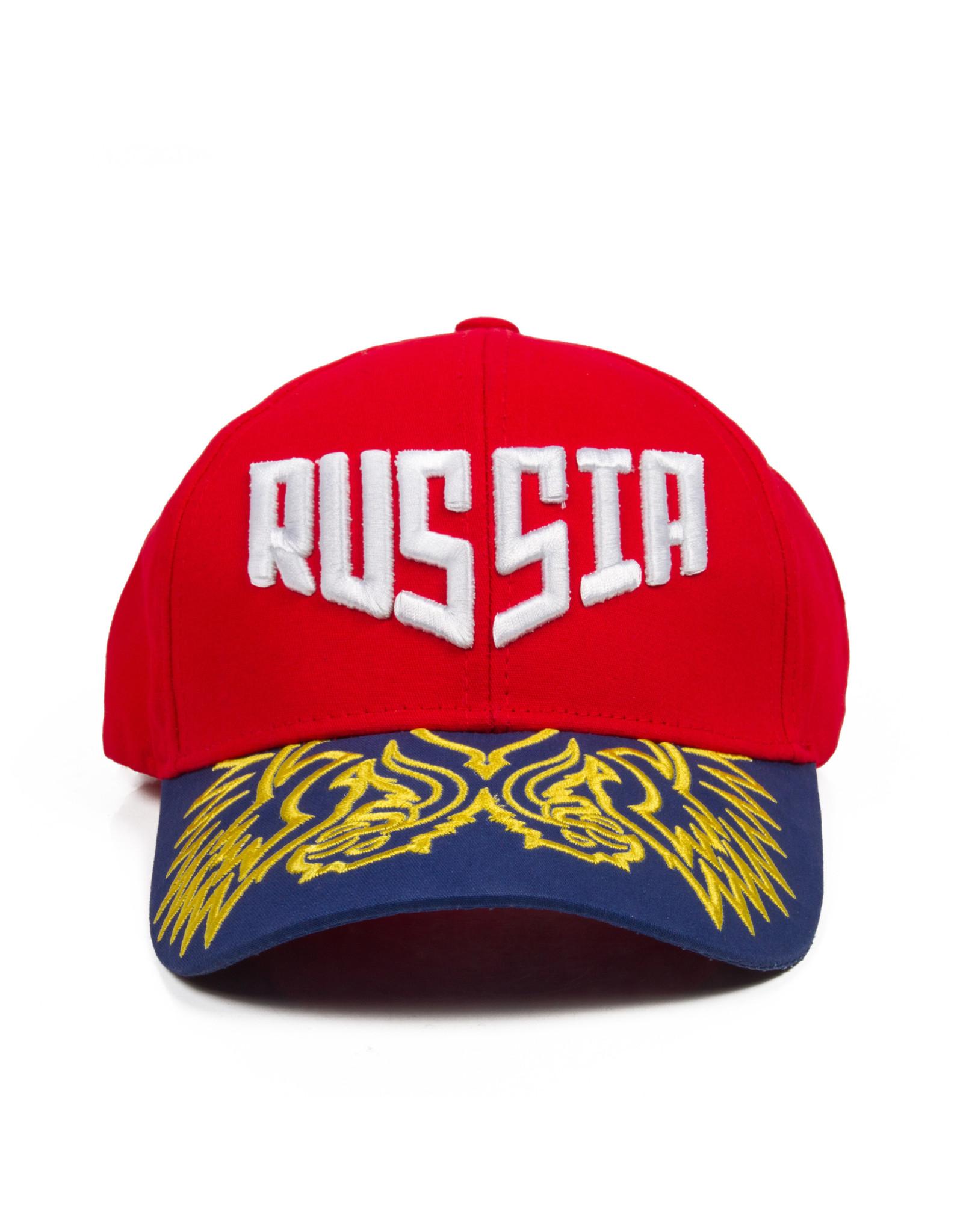 Бейсболка, Герб России красная
