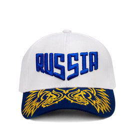 Baseball cap, Coat of arms of Russia white