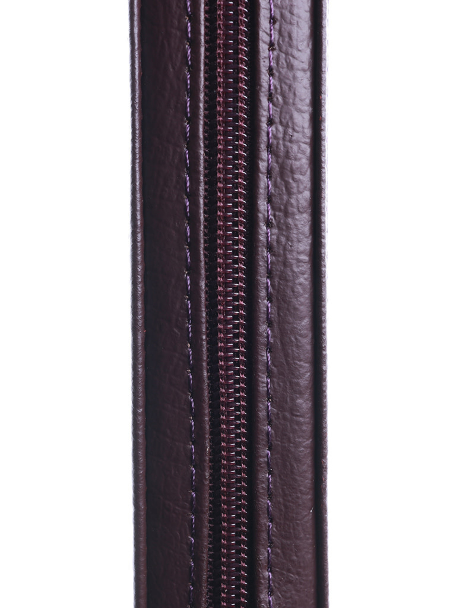 Библия, Каноническая (SYNO), Index, Leather with Zipper, Small Burgundy with Fixing Button