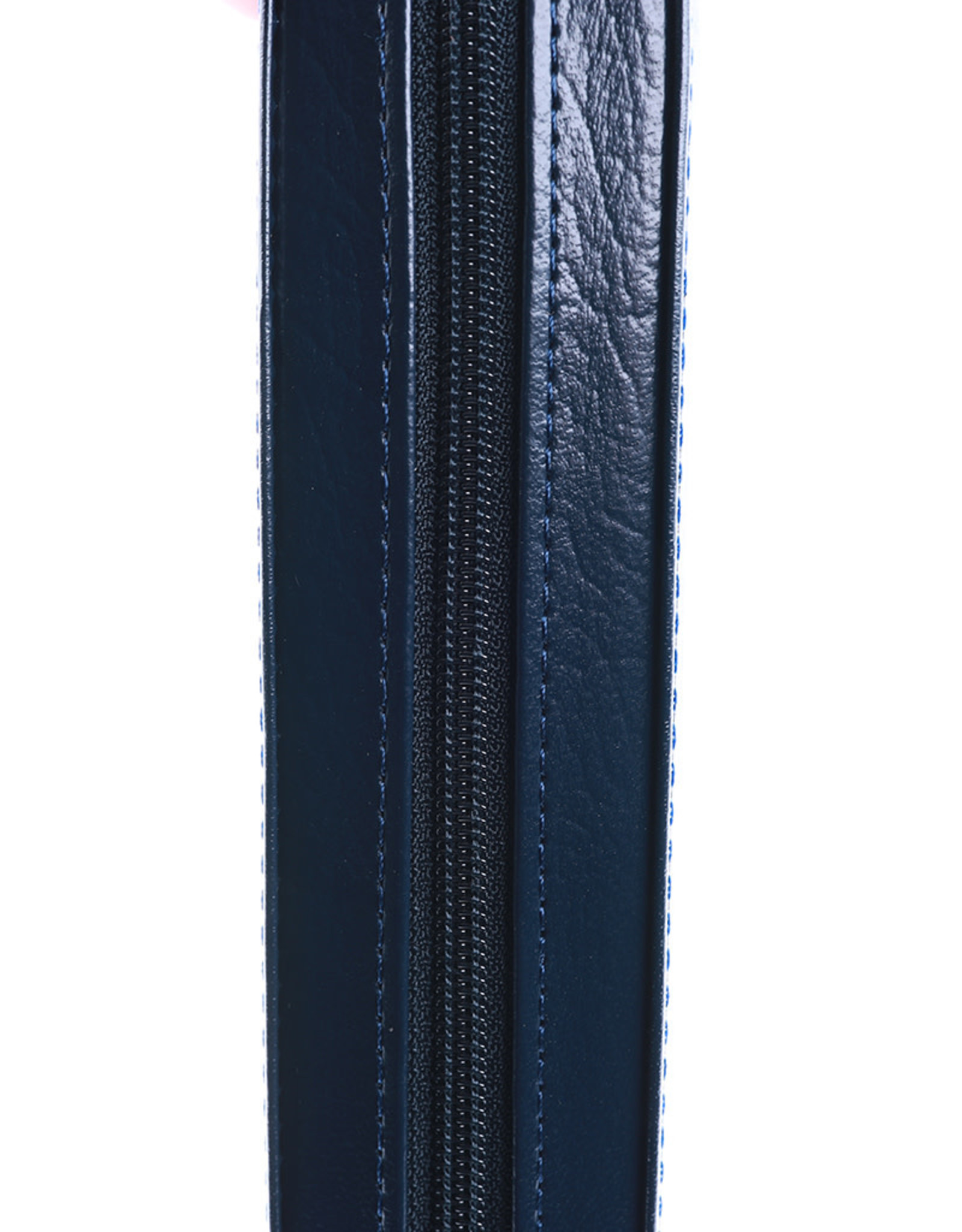 English-Russian Parallel Bible (KJV-SYNO), Index, with Zipper, Large, Navy