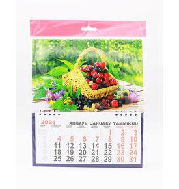 Ягоды, Календарь Перекидной