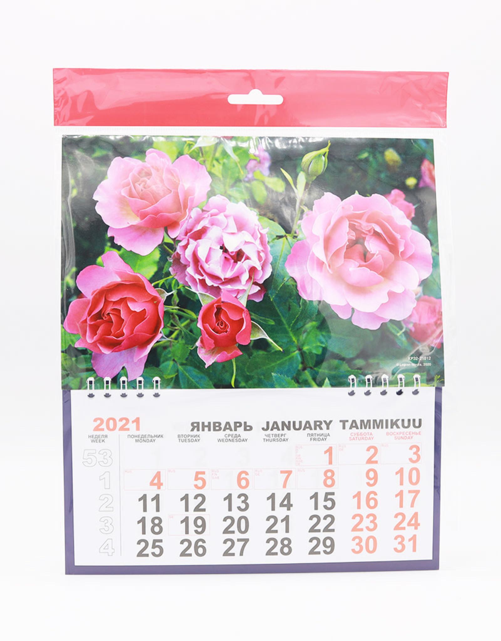 Цветы, Календарь Перекидной