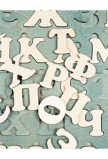 Деревянный Украинский алфавит, пазл