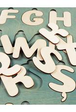 Деревянный Румынский алфавит, пазл
