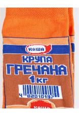 Носки для взрослых , Гречка, 36-40 Короткие