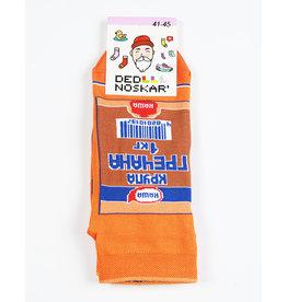 Носки для взрослых,  Гречка, 41-45 Короткие