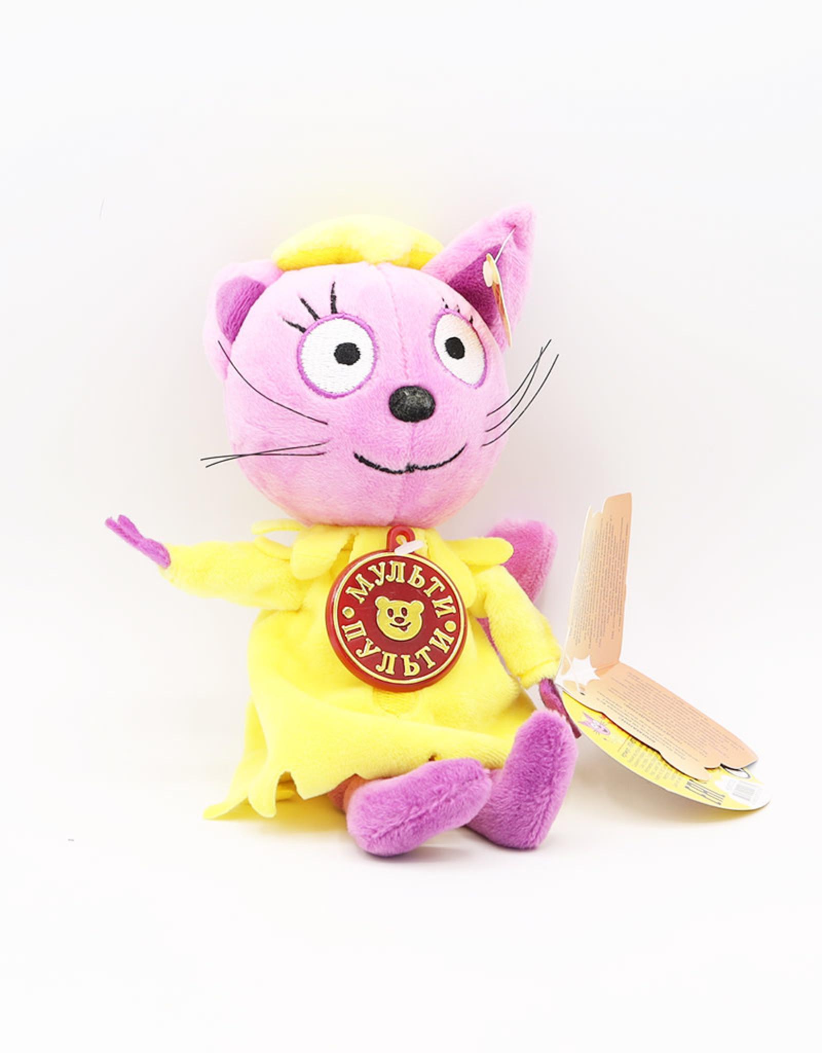 Мягкая озвученная игрушка Лапочка. Три Кота