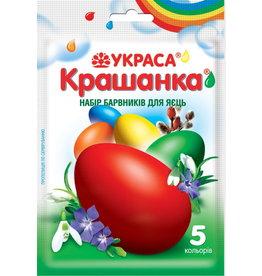 Украса Крашанка, Набір Барвників Для Яєць