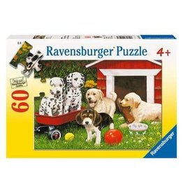 60 piece Puppy Party Puzzle
