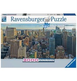 View Over New York Panoramic 2000 piece puzzle