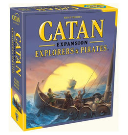 Settlers of Catan Catan: Explorers and Pirates Expansion