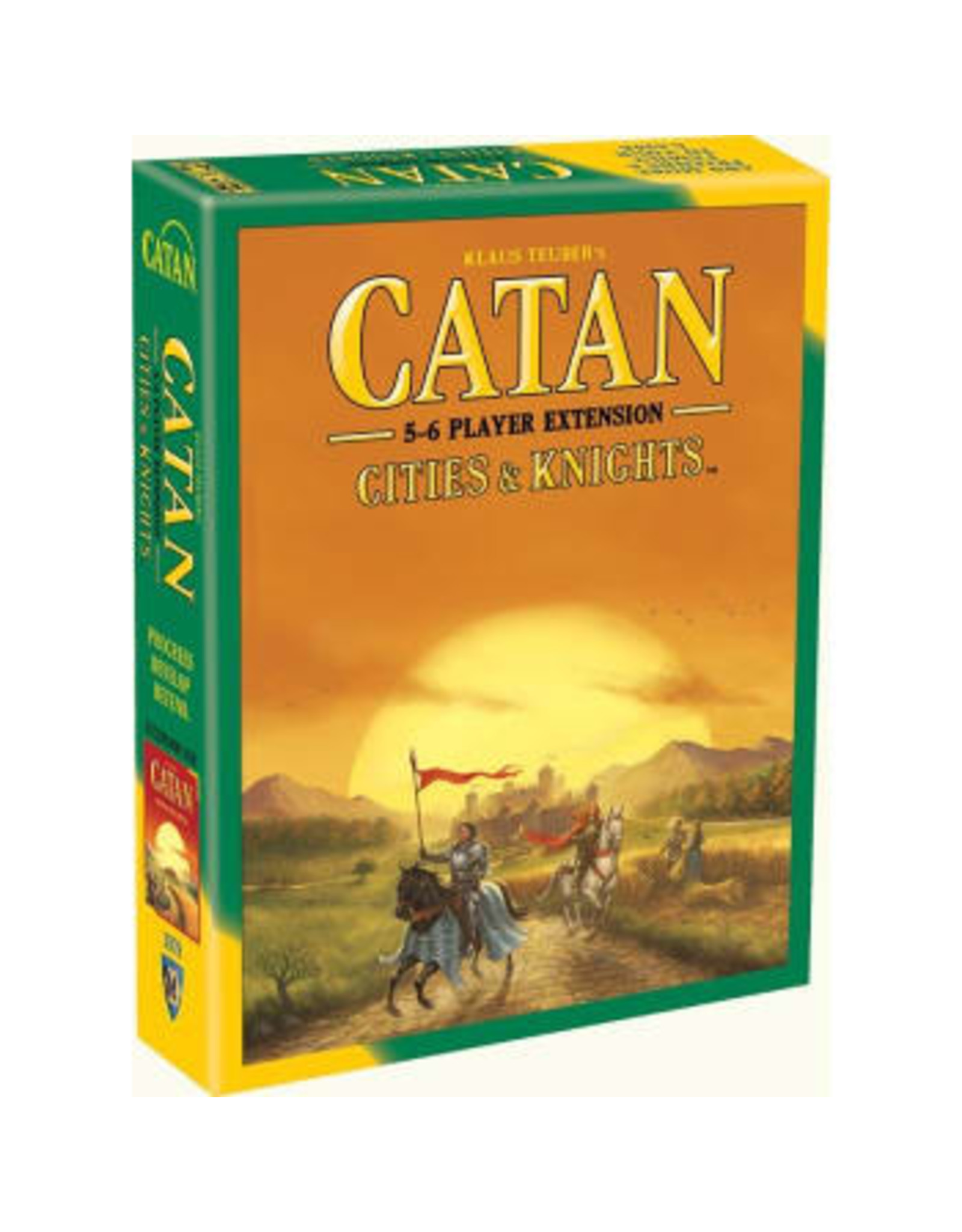 Settlers of Catan Catan: Cities and Knights 5-6 Player Extension