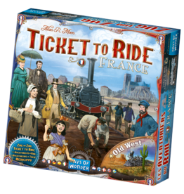 Ticket to Ride Ticket to Ride 6 France and Old West Maps