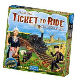 Ticket to Ride Ticket to Ride Map Collection 4 Nederland