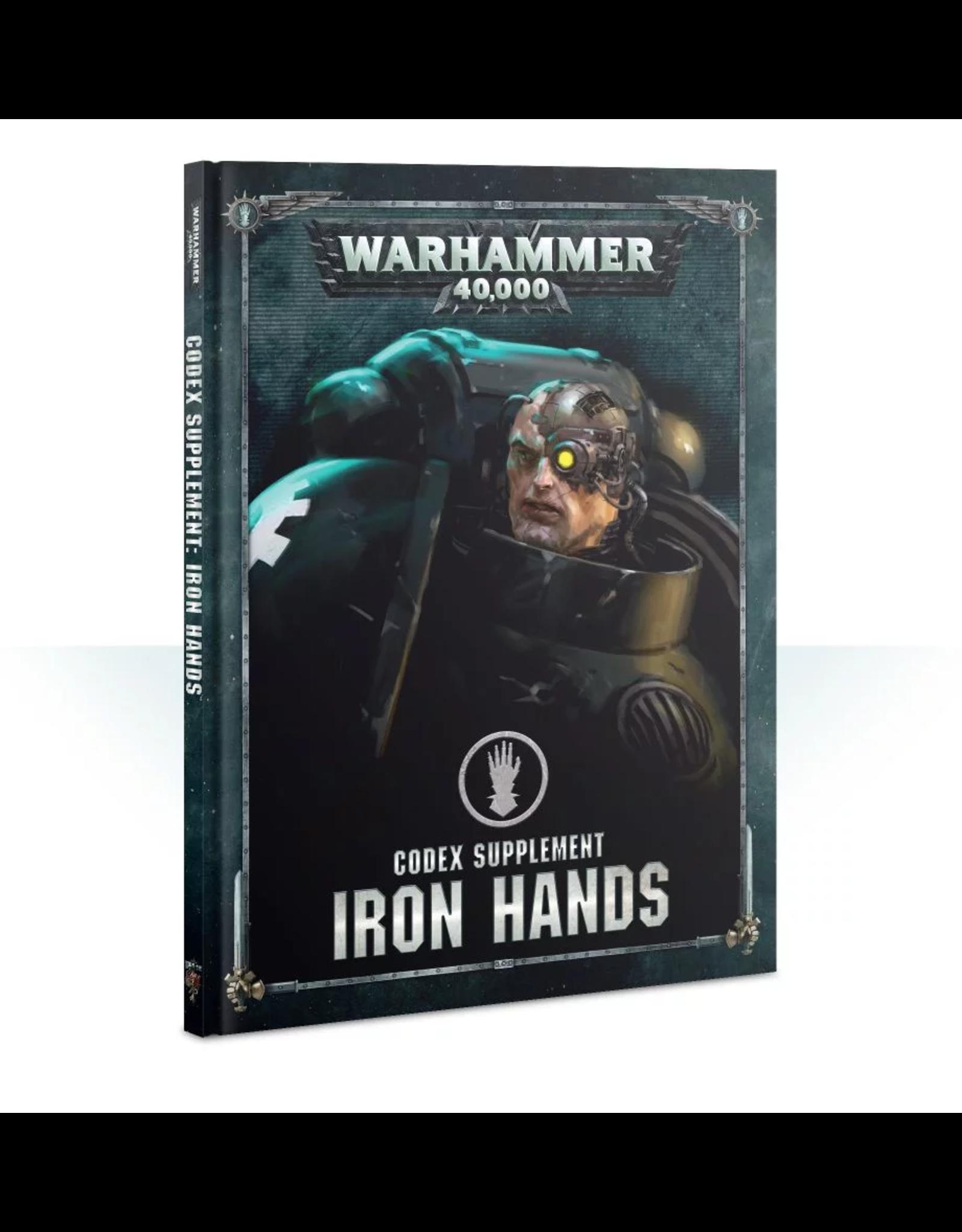 Warhammer 40K 40K Iron Hands Codex Supplement