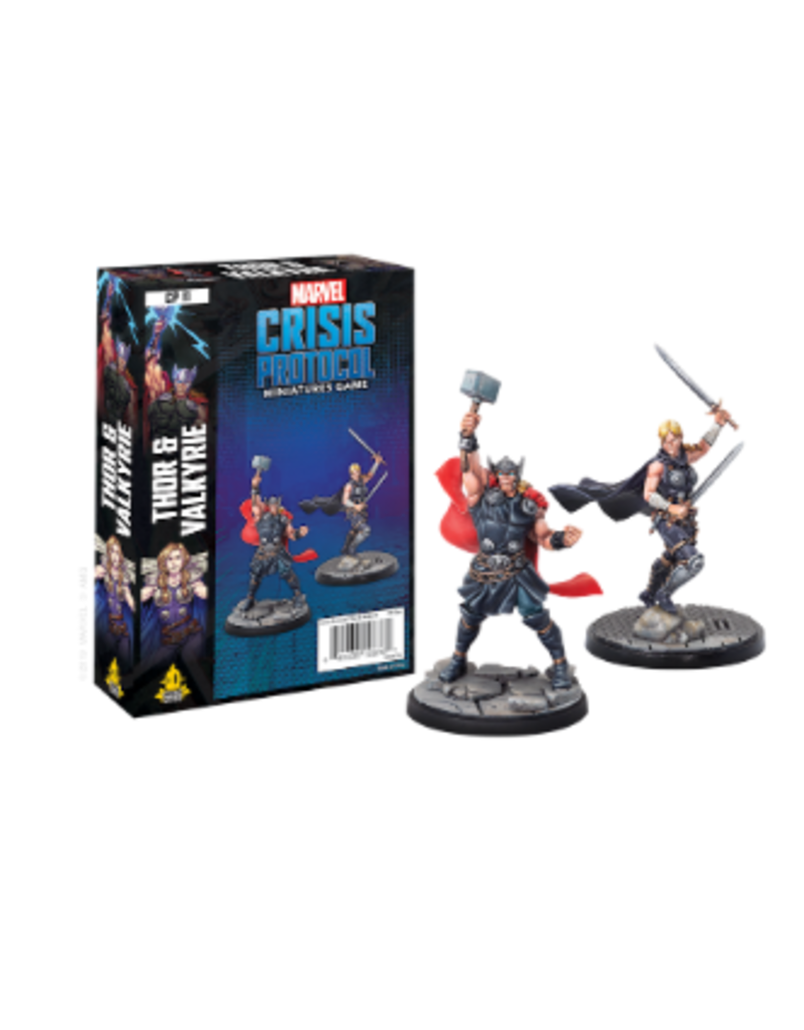 Marvel Crisis Protocol Marvel Crisis Protocol Thor and Valkyrie