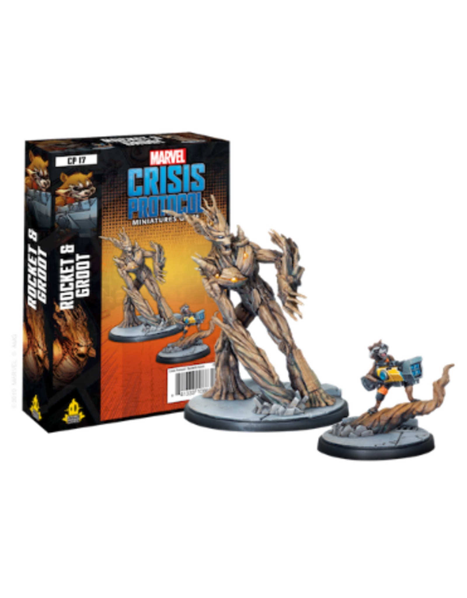 Crisis Protocol Rocket & Groot Character Pack