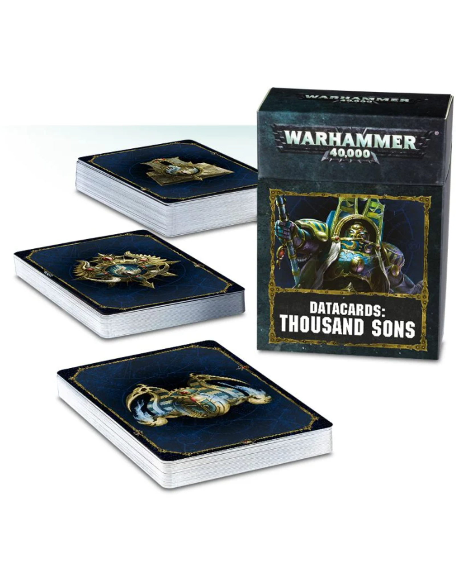 Warhammer 40K Datacards Thousand Sons