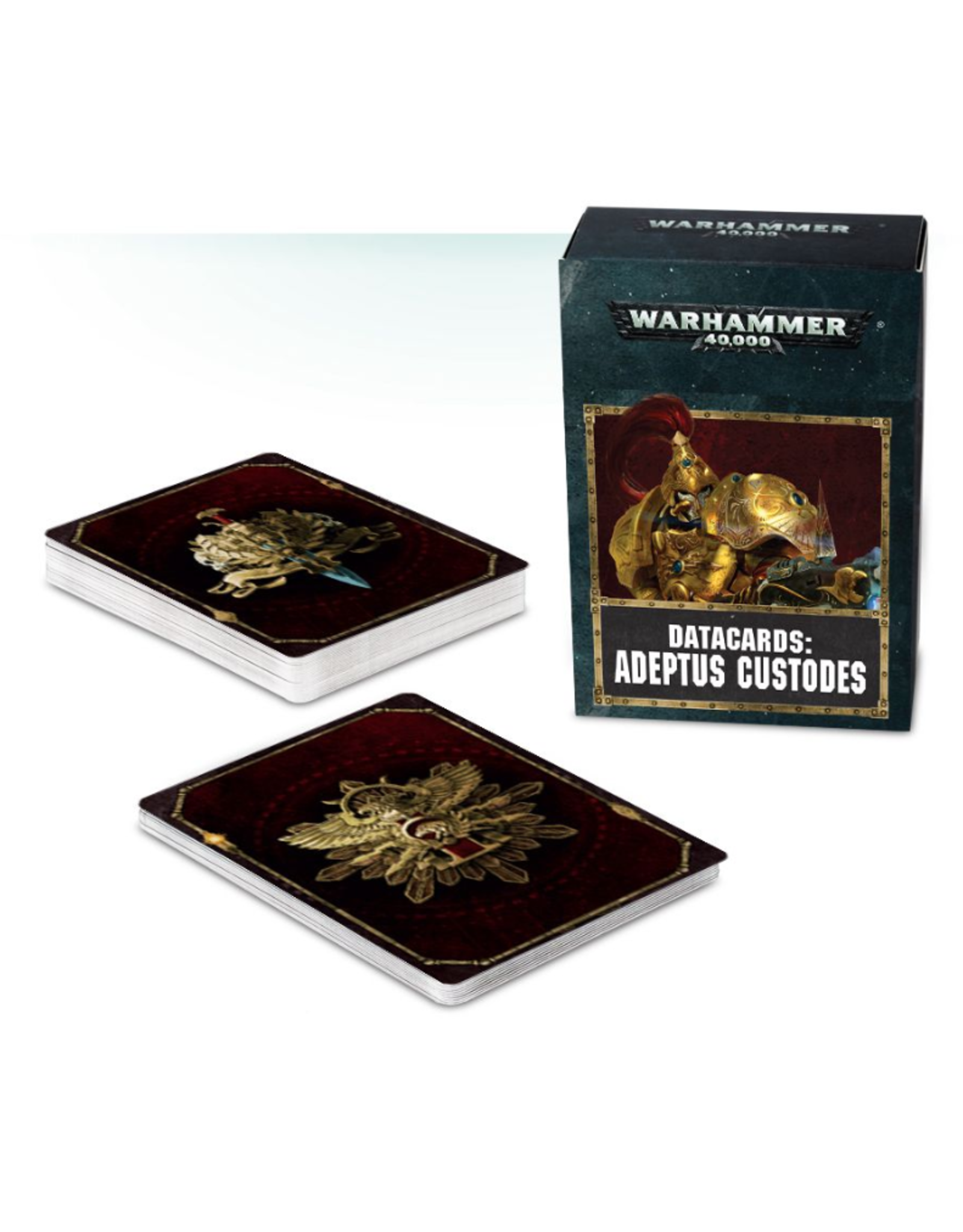 Warhammer 40K Datacards Adeptus Custodes