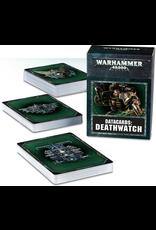 Warhammer 40K Datacards Deathwatch