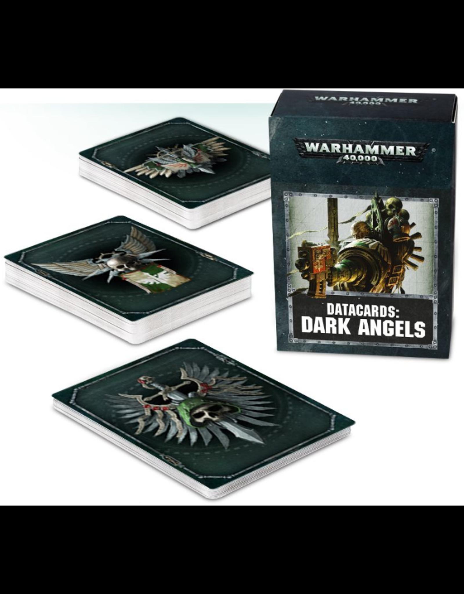 Warhammer 40K Datacards Dark Angels