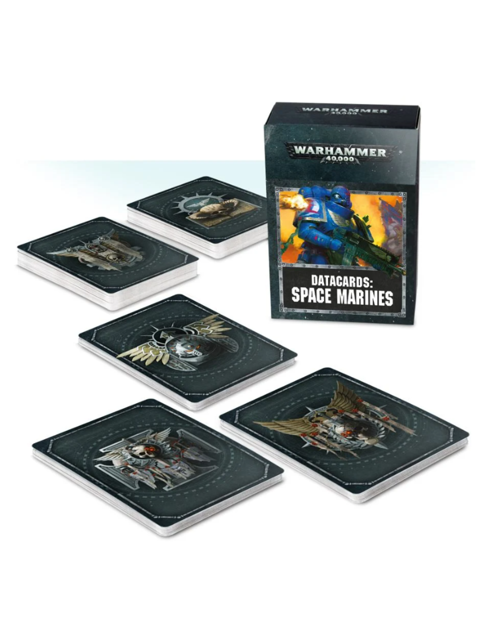 Warhammer 40K Datacards Space Marines