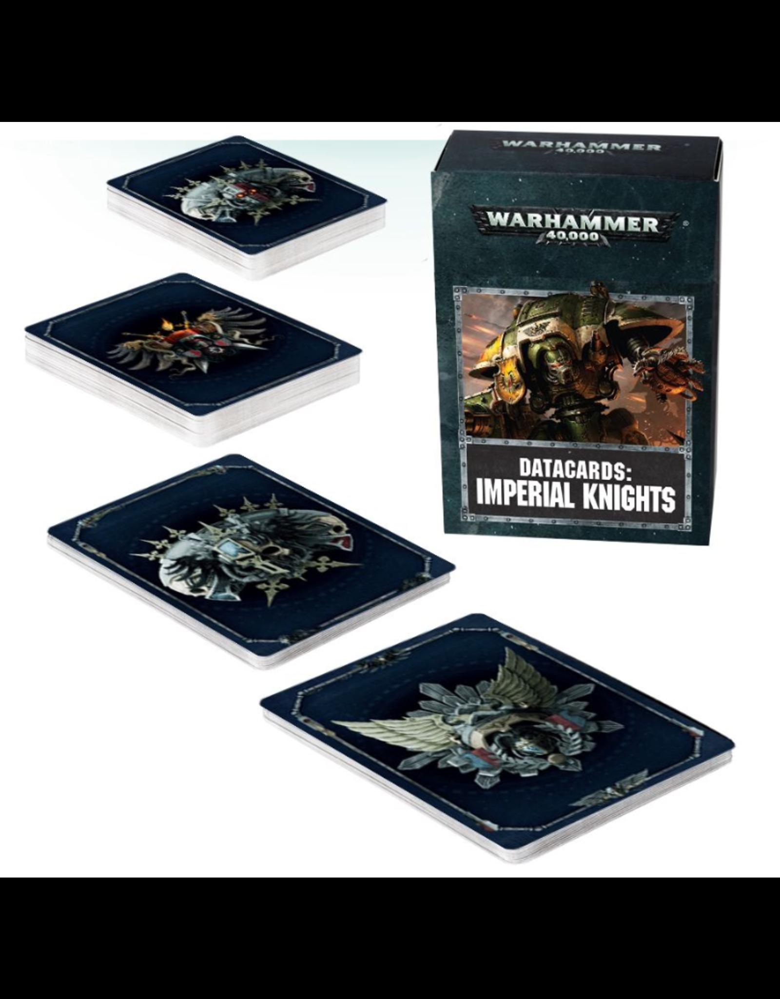Warhammer 40K Datacards Imperial Knights
