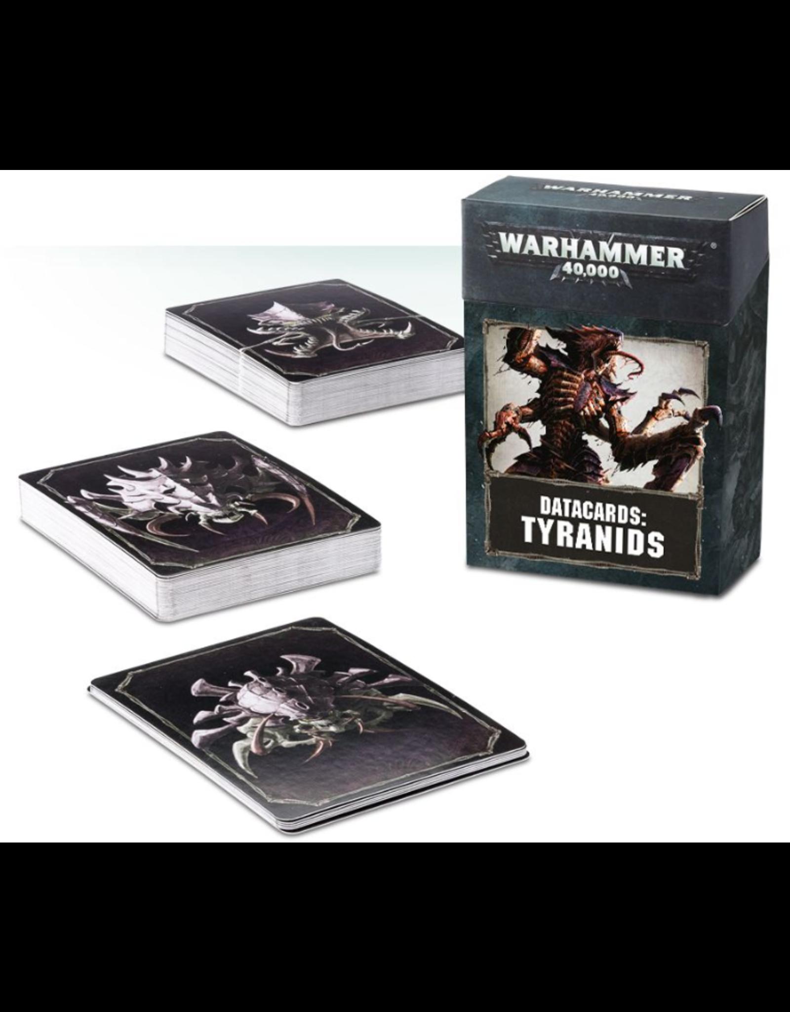 Warhammer 40K Datacards Tyranids
