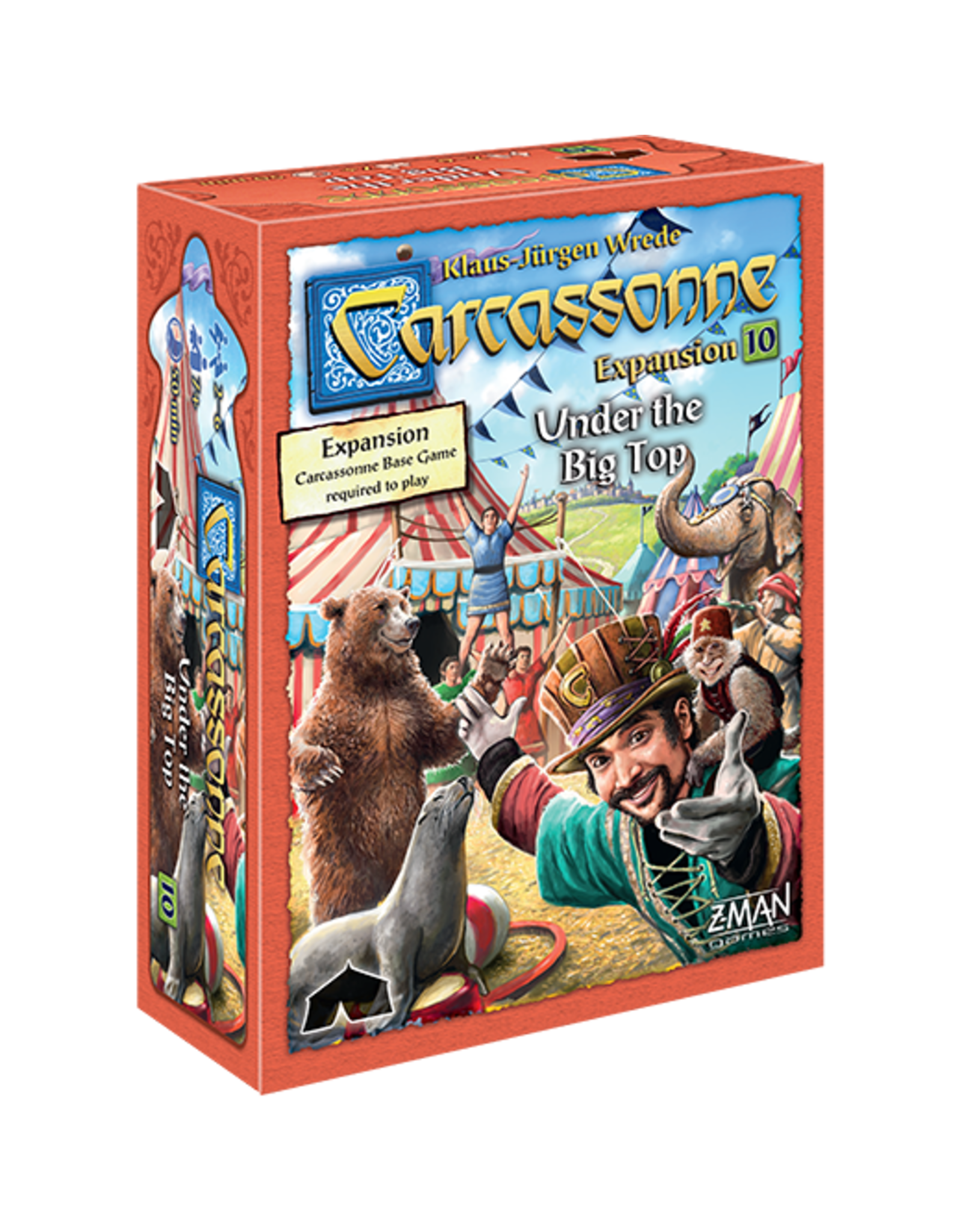 Carcassonne Expansion 10 Under the Big Top