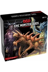 Dungeons & Dragons D&D Monster Cards Epic Monsters