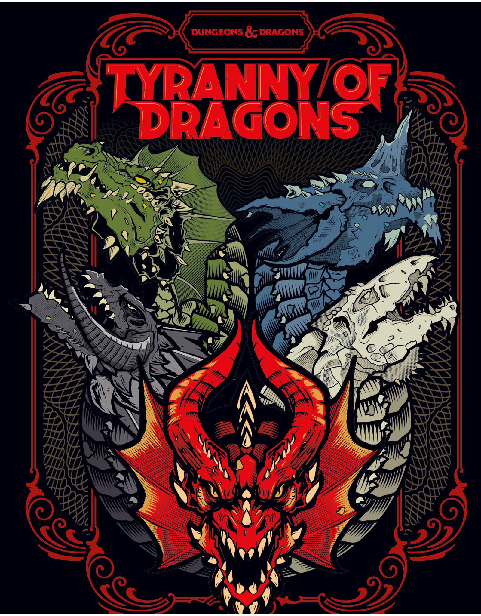 Dungeons & Dragons D&D Tyranny of Dragons Alternate Cover