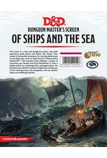 Dungeons & Dragons D&D Of Ships and the Sea DM Screen
