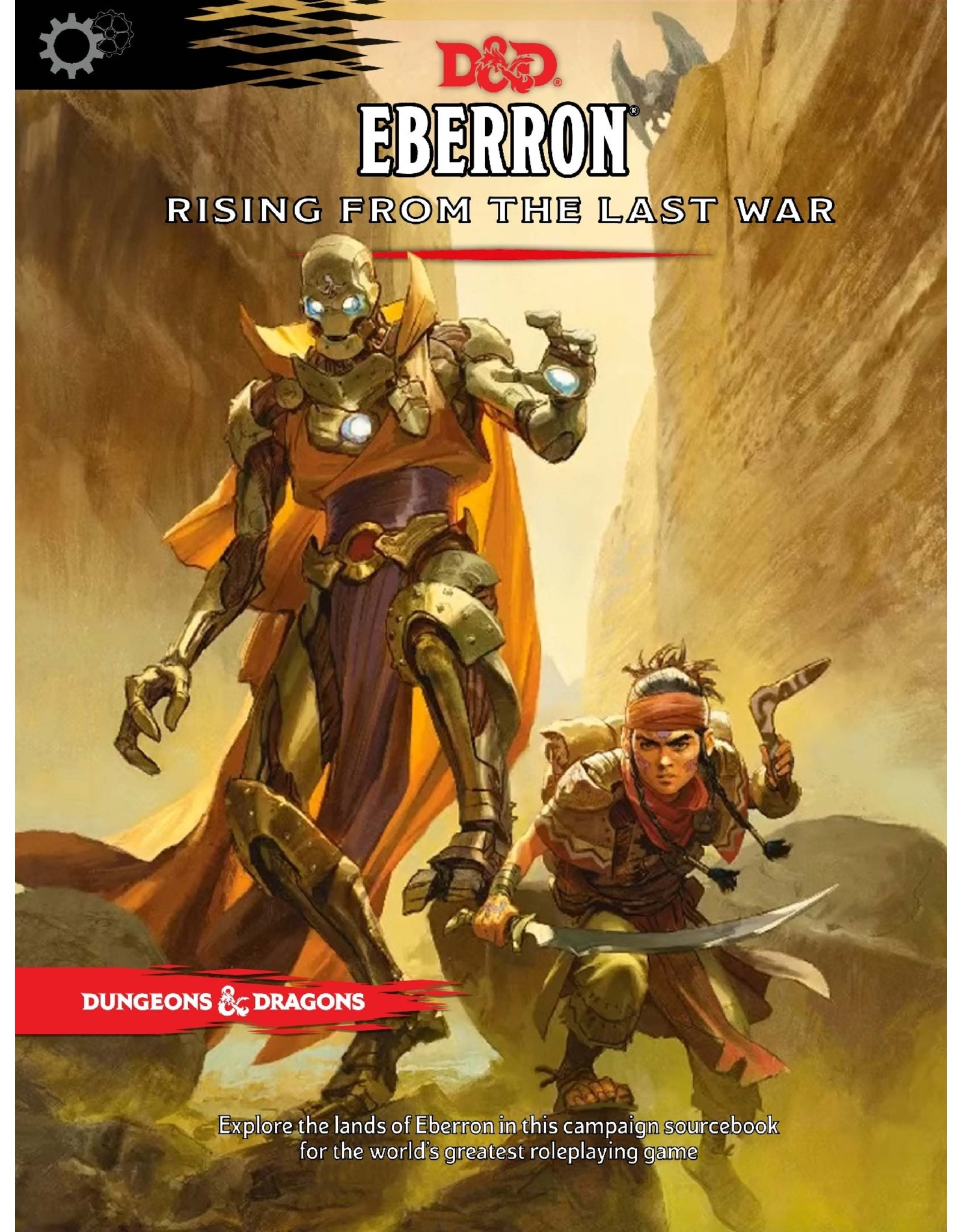 Dungeons & Dragons D&D Eberron Rising from the Last War (Regular Cover)