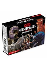 Dungeons & Dragons D&D Monster Cards Challenge Rating 6-16
