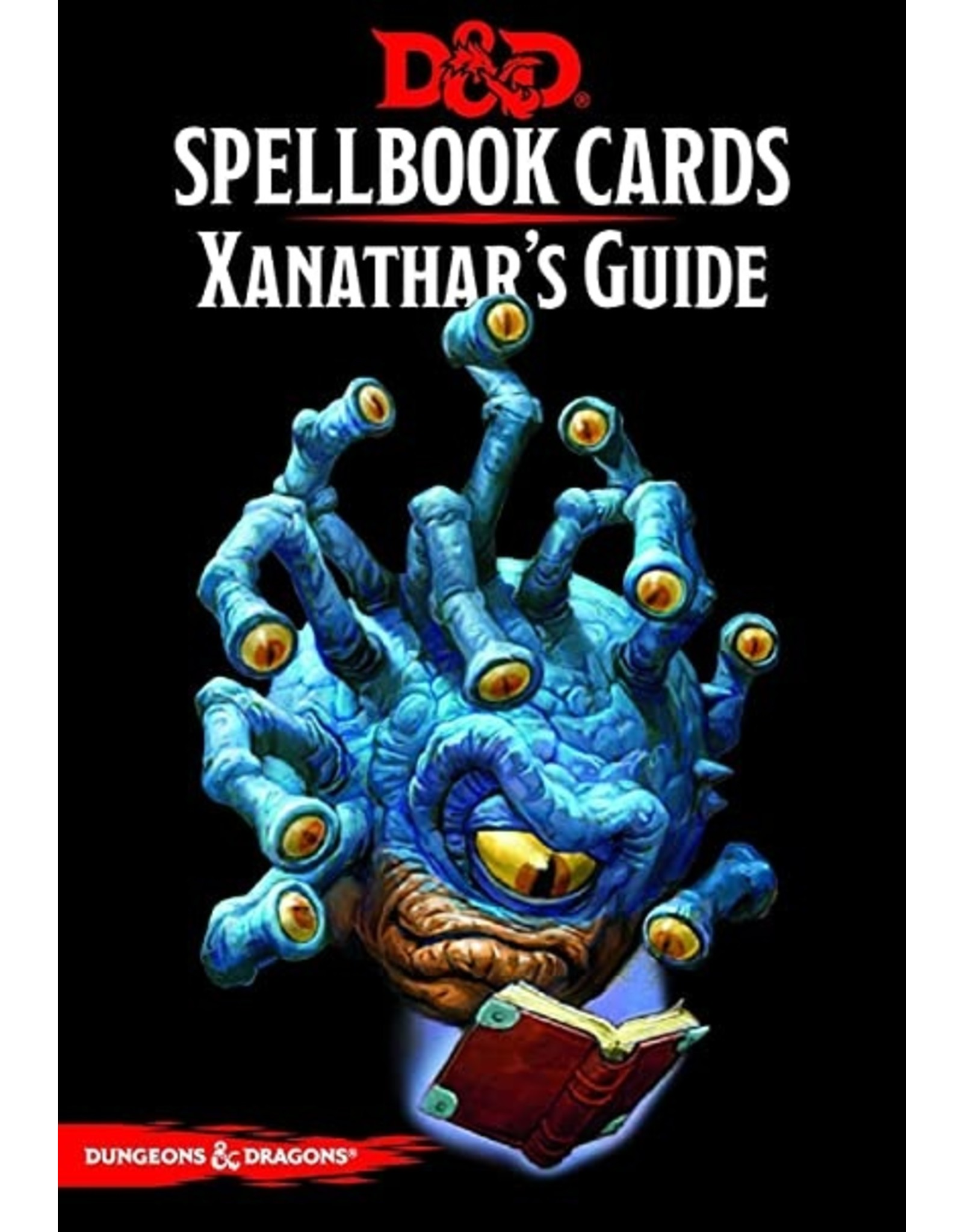 Dungeons & Dragons D&D Spellbook cards Xanathar's Guide Deck