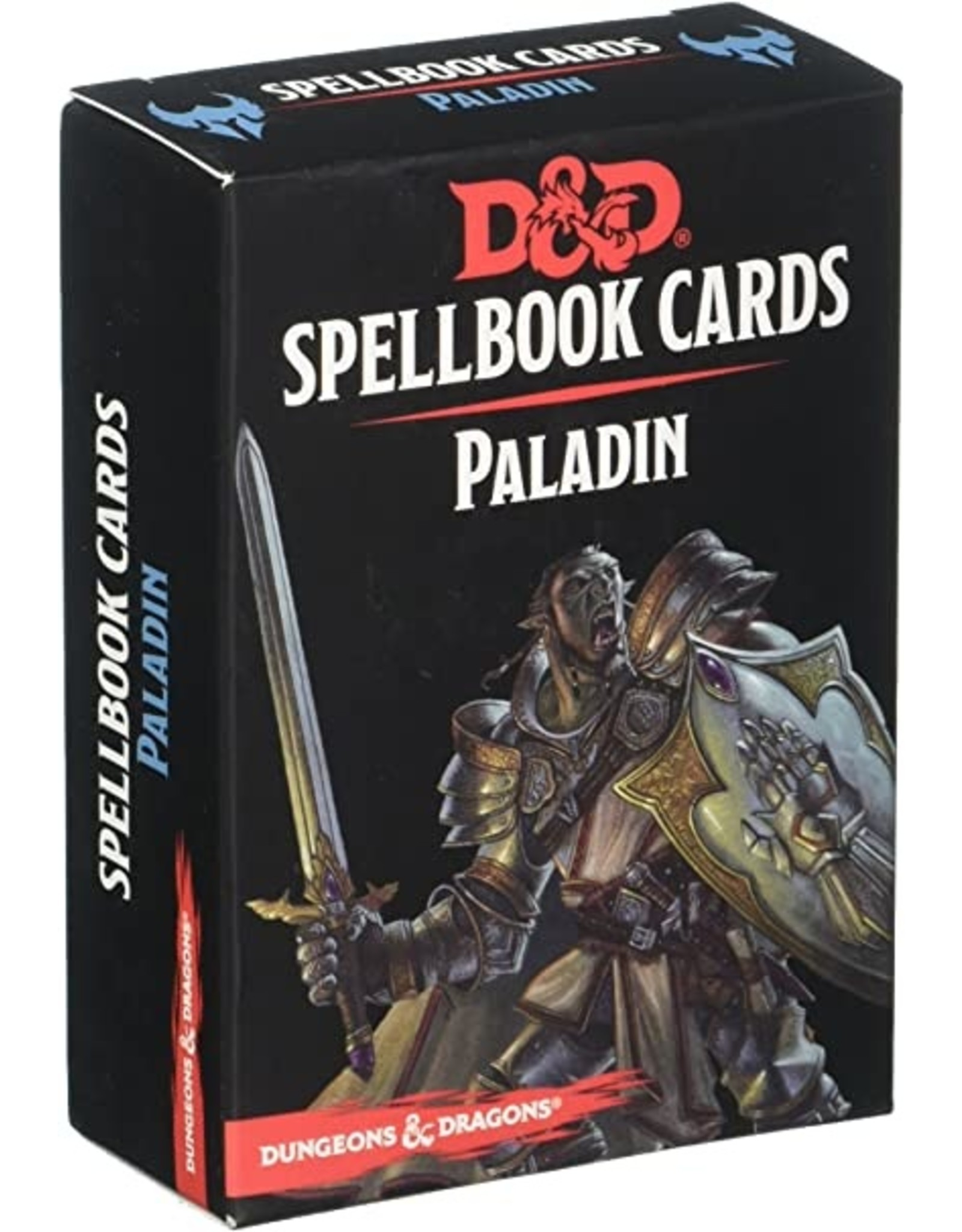 Dungeons & Dragons D&D Spellbook Cards Paladin Deck