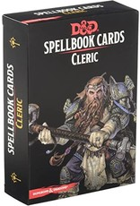 Dungeons & Dragons D&D Spellbook Cards Cleric Deck