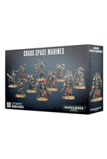 Warhammer 40K Chaos Space Marines New box