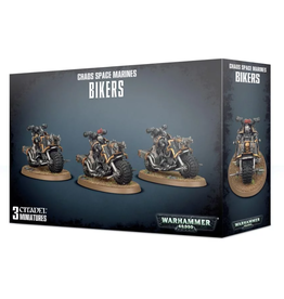 Warhammer 40K Chaos Space Marine Bikers