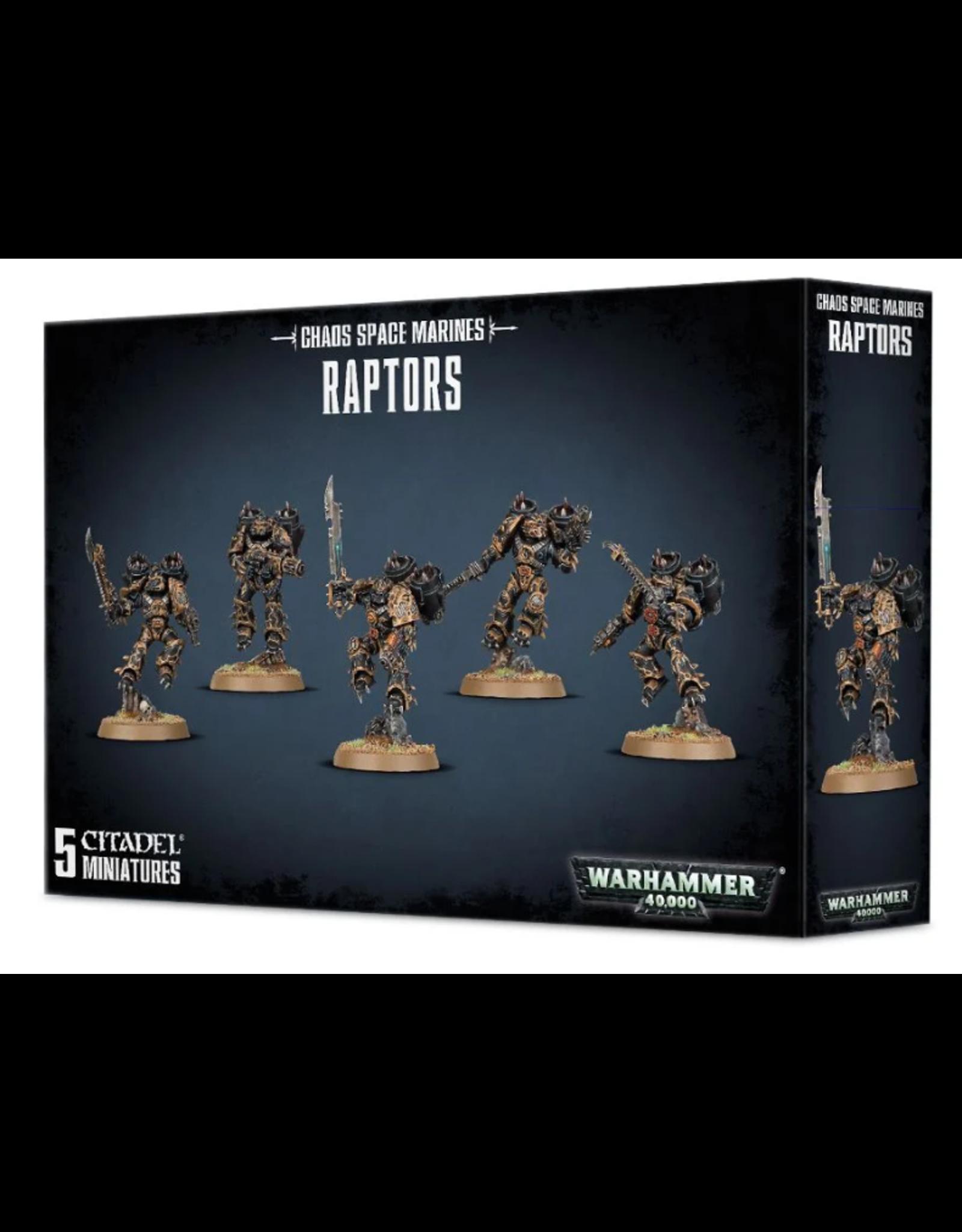 Warhammer 40K Chaos Space Marines Raptors/Warp Talons