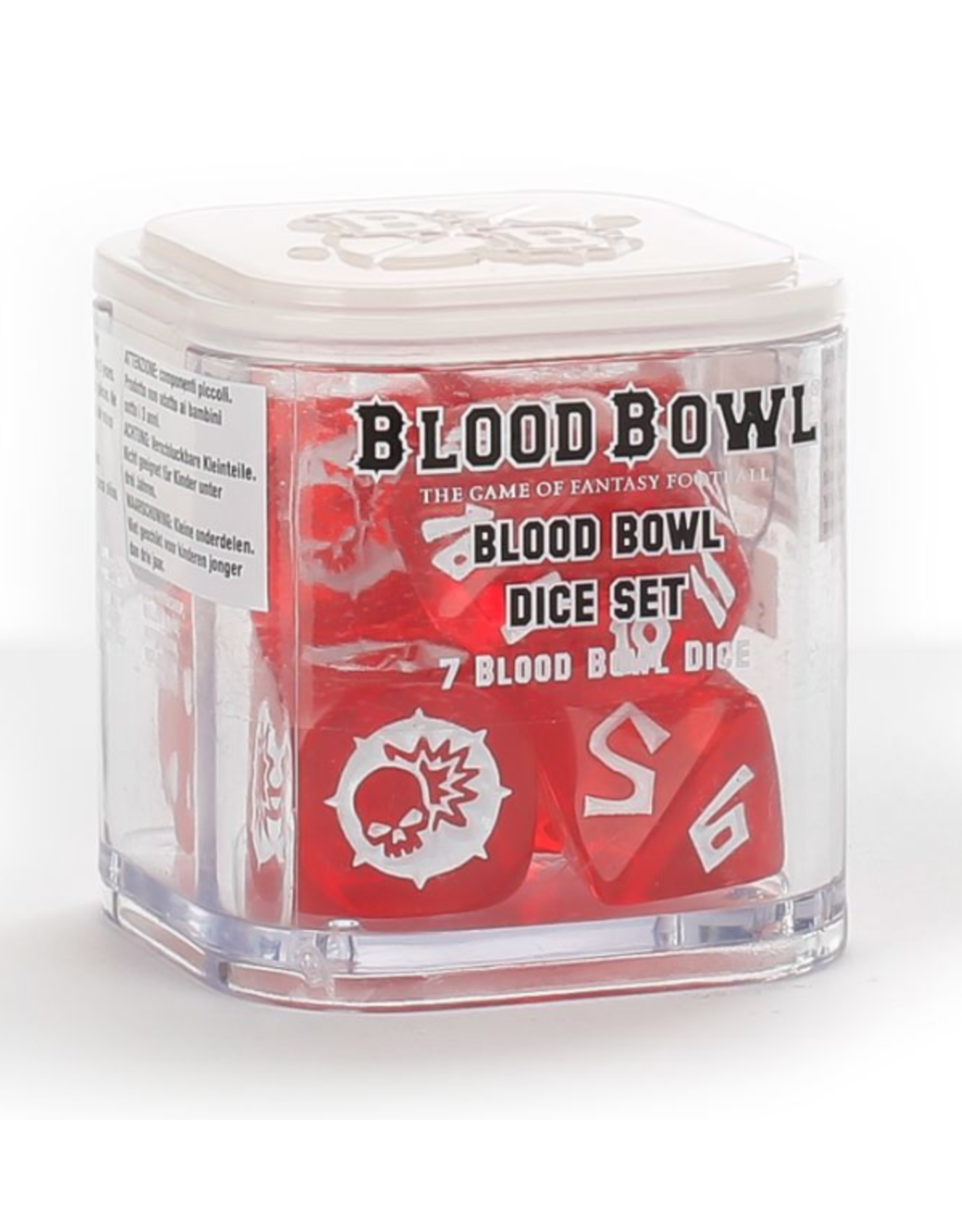 Blood Bowl Dice Set (Regular)