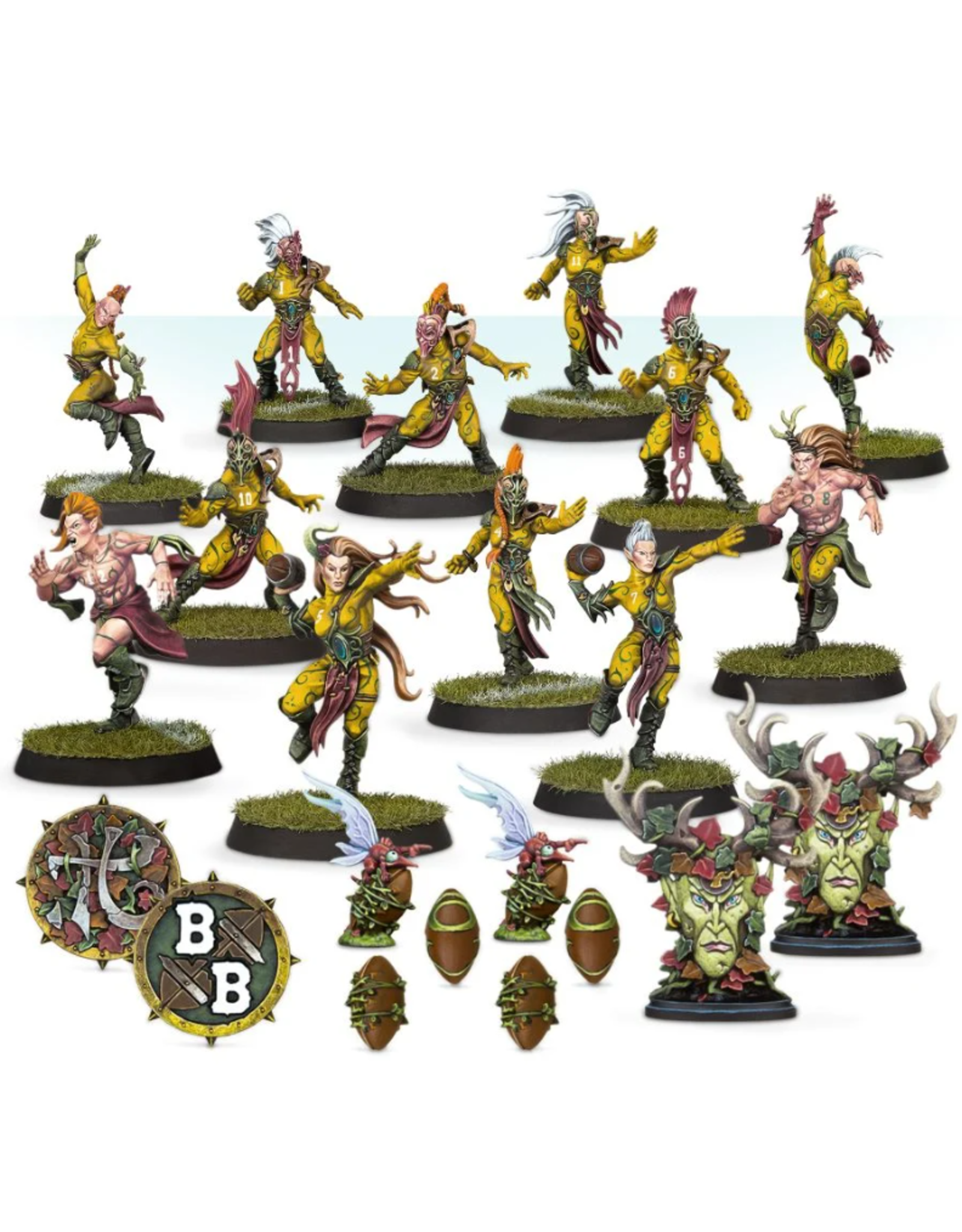 Blood Bowl Wood Elves Athelorn Avengers