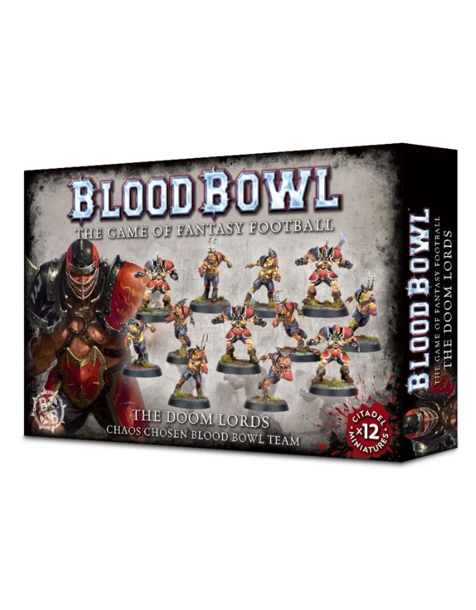 Blood Bowl Chaos Doom Lords Team